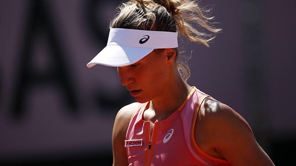 Viktorija Golubic unterlag in der 1. Runde der Einheimischen Heather Watson