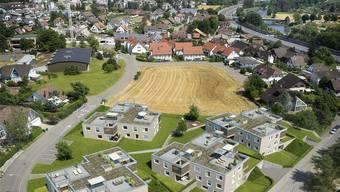 Bis im März 2017 sind alle vier Häuser fertig gebaut. Visualisierung/Profil Immobilien AG