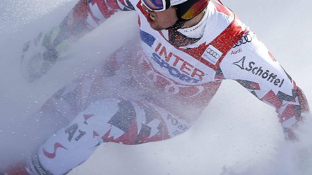 Prächtige Winterstimmung in Val d'Isère, hier zelebriert von Marcel Hirscher