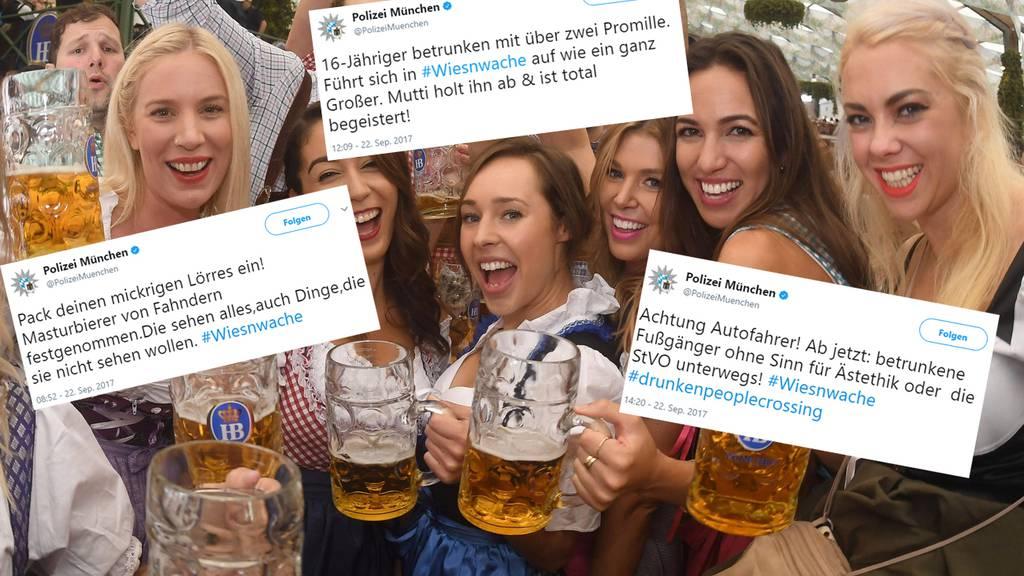 Polizei München beweist Humor
