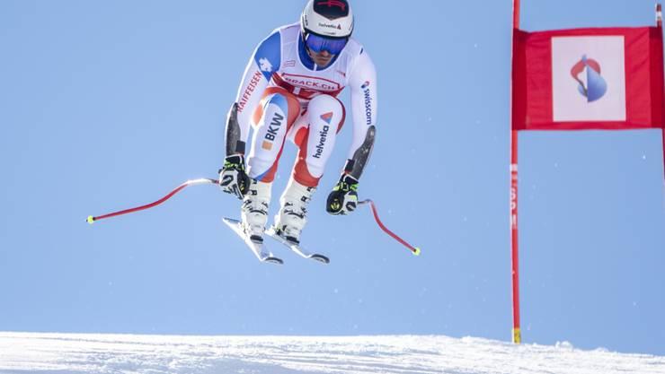 Gilles Roulin fährt im Super-G auf dem Stoos überlegen zum Schweizer Meistertitel