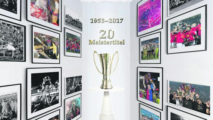 Der Rückblick auf die 20 Meistertitel des FC Basel.