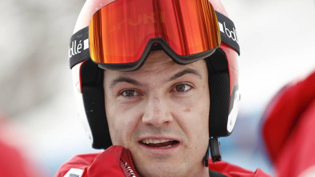 Loïc Meillard runzelt die Stirn - und holt erneut Bronze
