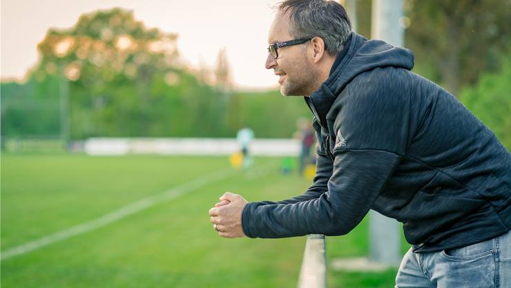 FC-Klingnau-Präsident Roger Meier: «Es war nicht alles schlecht. In vielen Partien hat nicht viel gefehlt.» Bild: Chris Iseli