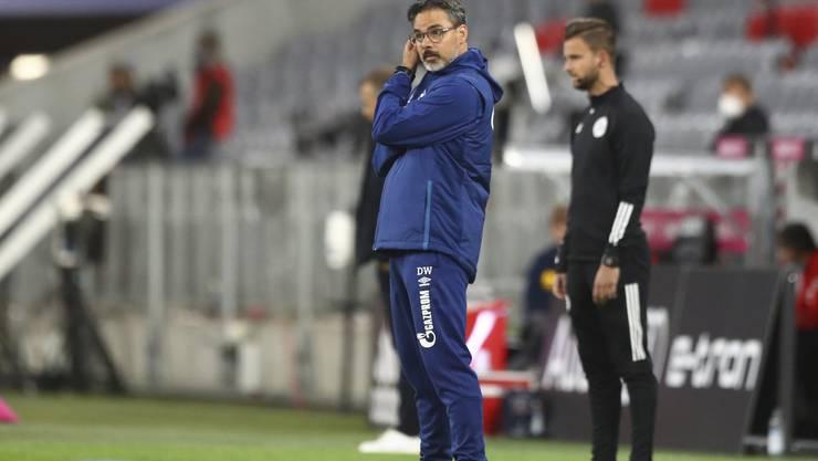 Unter Druck: David Wagner, der Trainer des FC Schalke 04.