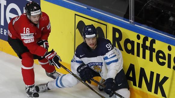 Auch gegen Finnland erhielt Raphael Diaz zuviel Eiszeit.