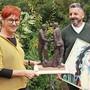 Haben das künstlerische Schaffen für sich entdeckt: Kathrin Küng und Stefan Eisenhut.