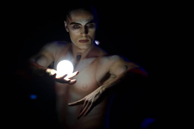 Viktor Kee während seinem Auftritt an der Premiere zur 100-Jahre-Jubiläumstournee des Circus Knie in Rapperswil (SG), am Donnerstag, 21. März 2019.