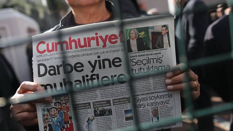 Pressefreiheit hinter Gittern - in der Türkei sind über 100 Journalisten im Gefängnis (Symbolbild).