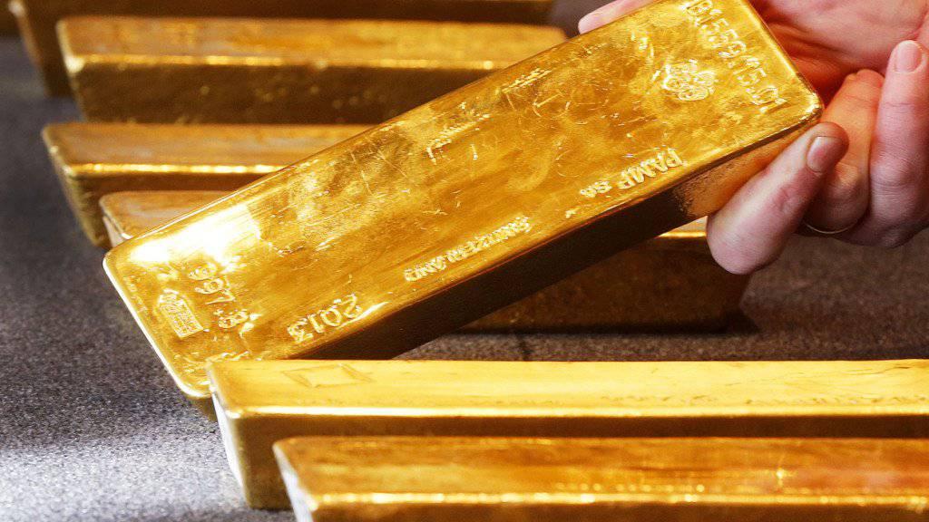 Goldpreis erreicht Höchststand seit 2013