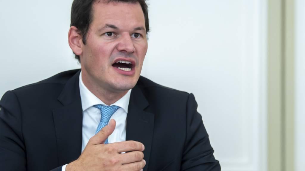 Erfolg vor Bundesgericht für den Genfer Staatsrat Pierre Maudet. Der frühere FDP-Politiker hatte eine Beschwerde gegen das Schweizer Fernsehen eingereicht. (Archivbild)