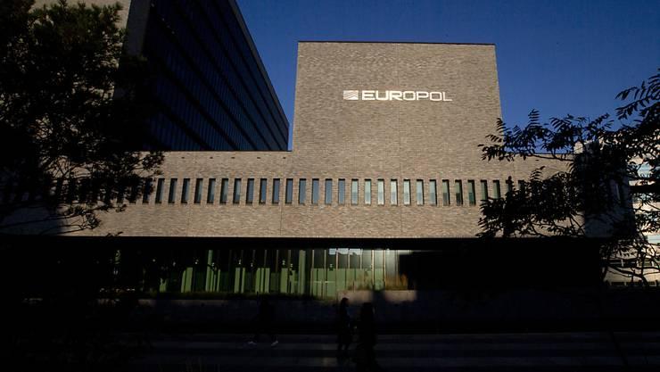 Der Sitz von Europol in Den Haag. (Archivbild)