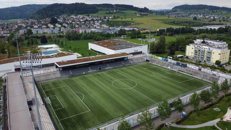 Symbolbild des Stadion Bergholz in Wil.
