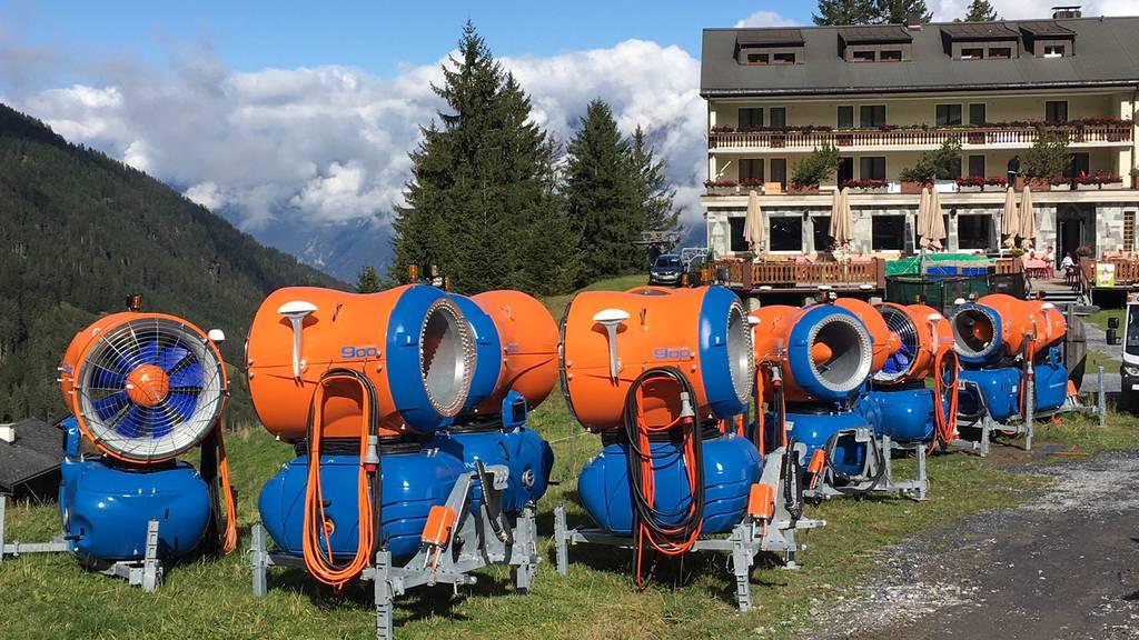 Zehn neue Schneekanonen für den Pizol