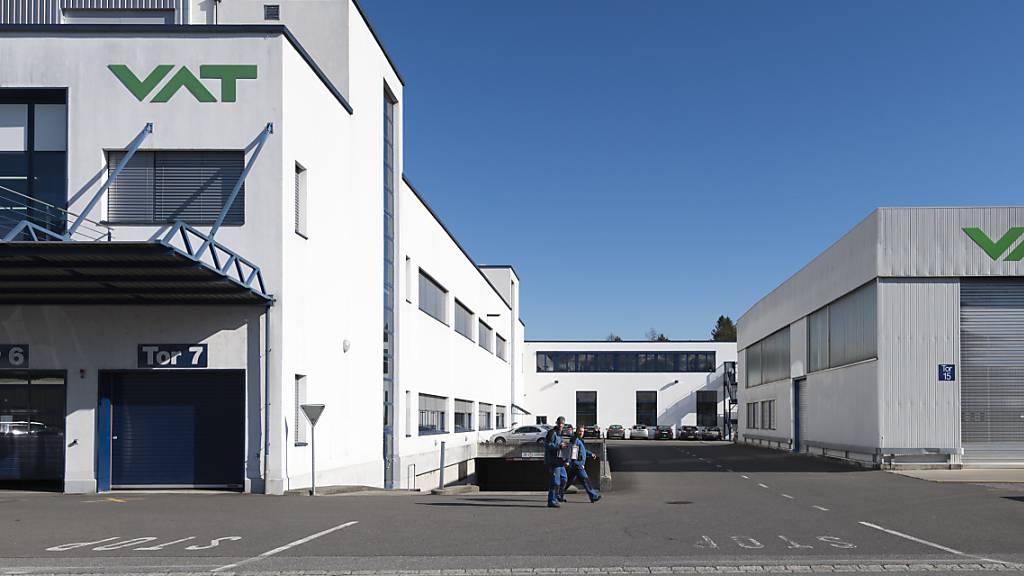 VAT meldet rekordhohen Auftragseingang im dritten Quartal