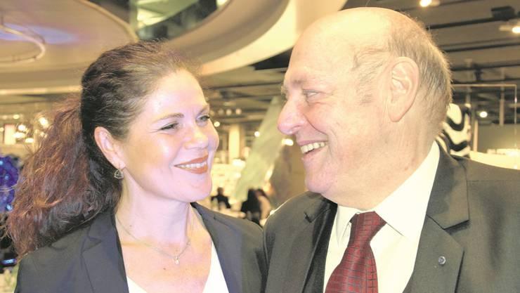 Schon lange liiert und bald ein Ehepaar: Roberta Baumann und SVP-Nationalrat Ulrich Giezendanner.