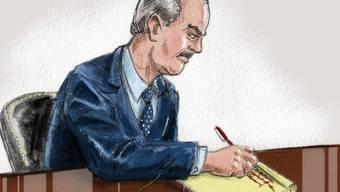Der Angeklagte Allen Stanford vor Gericht (Archiv)