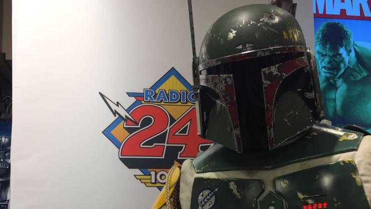 Radio 24 und Star Wars im Manor in Zürich