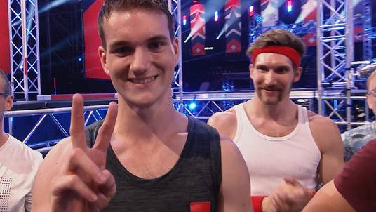Finale von Ninja Warrior Switzerland