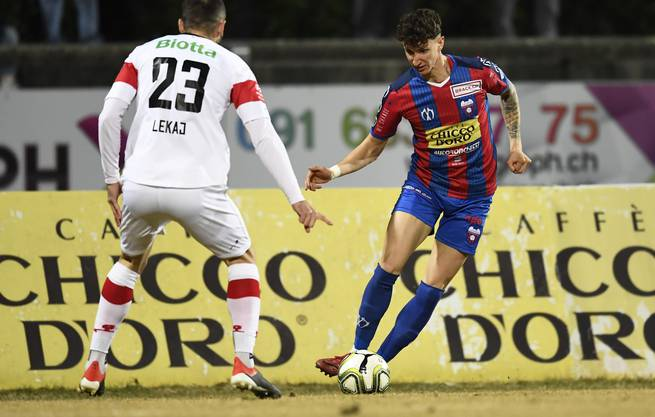 Andrea Padula begann seine Profikarriere, damals noch mit anderer Frisur, beim FC Chiasso.