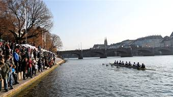 Ideale Bedingungen: Schönes Wetter und starke Boote sorgten für eine gute Regattastimmung entlang des Rheins.