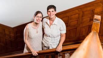 Denise Werder und Michèle Clemen eröffnen Kompetenzzentrum