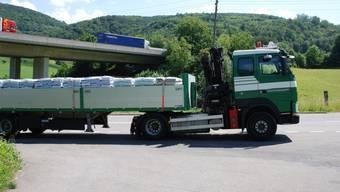 Überladener Lastwagen 1