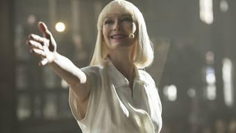 """Tilda Swinton im Netflix-Film """"Okja"""". An der Weltpremiere am Freitag in Cannes musste die Vorführung wegen Protesten kurz unterbrochen werden. (Archivbild)"""