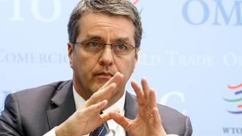 Ist noch nicht amtsmüde: WTO-Generalsekretär Roberto Azevedo. (Archiv)