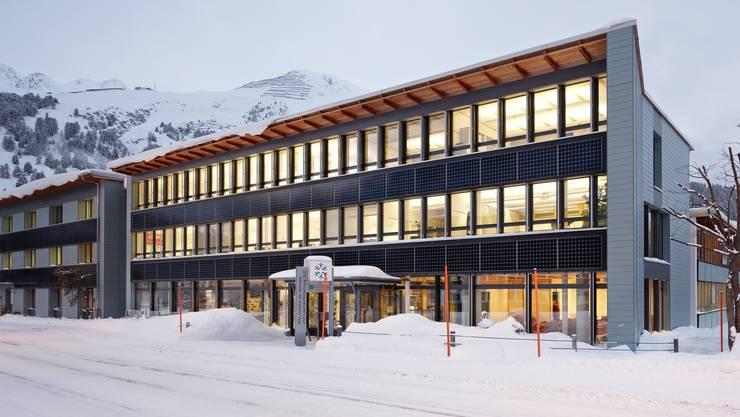 Das Gebäude des WSL-Instituts für Schnee- und Lawinenforschung in Davos, wo das neue Forschungszentrum angesiedelt werden soll.