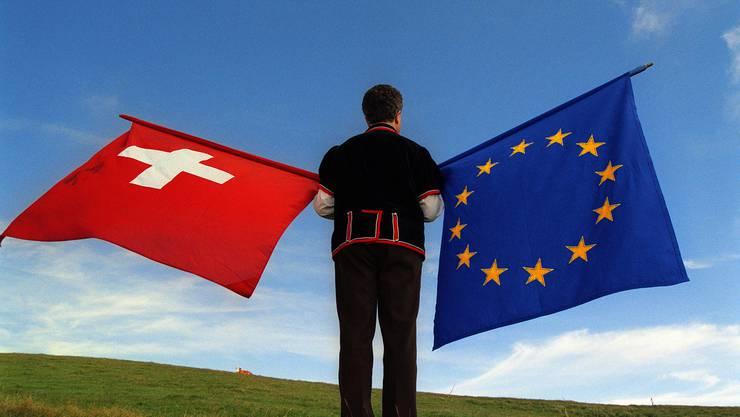 Die Sozialpartner torpedieren in einem Brief an den Bundesrat das Rahmenabkommen mit der EU in seiner heutigen Form. (Symbolbild)