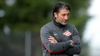 Murat Yakin und seine Bescheidenheit: Hier noch im Trainerjäckchen von Spartak Moskau.