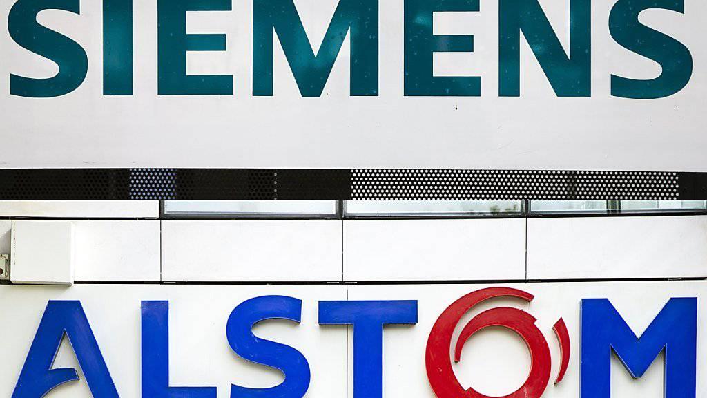 Gemeinsam gegen die Konkurrenz aus China: Alstom und Siemens legen die Zugsparten zusammen. (Symbolbild)
