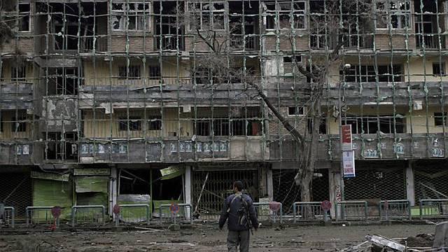 Anschlag auf Hotel in Kabul