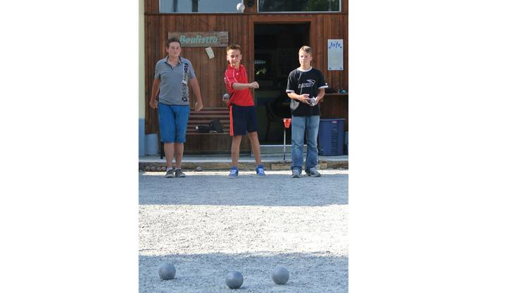 Pascal Schüpbach, Dirk Marquardt und Lukas Baur.