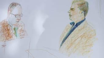 Prozess zum Schenkkreis-Mord im Solothurner Amtshaus