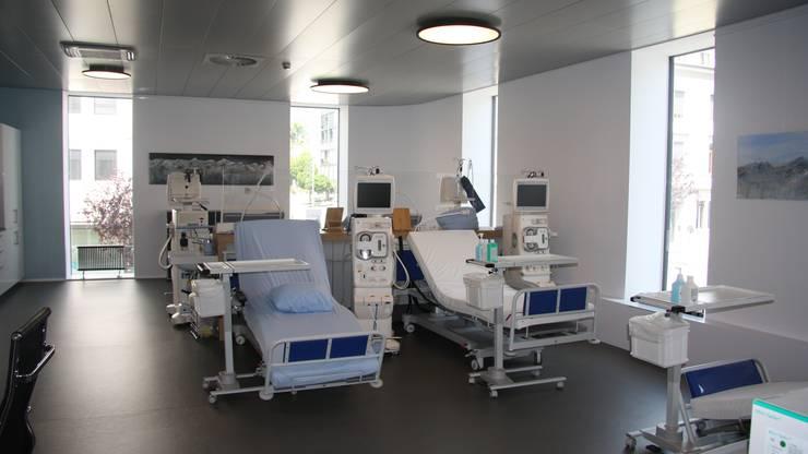 Modernste Infrastruktur steht den Dialyse-Patienten zur verfügung.