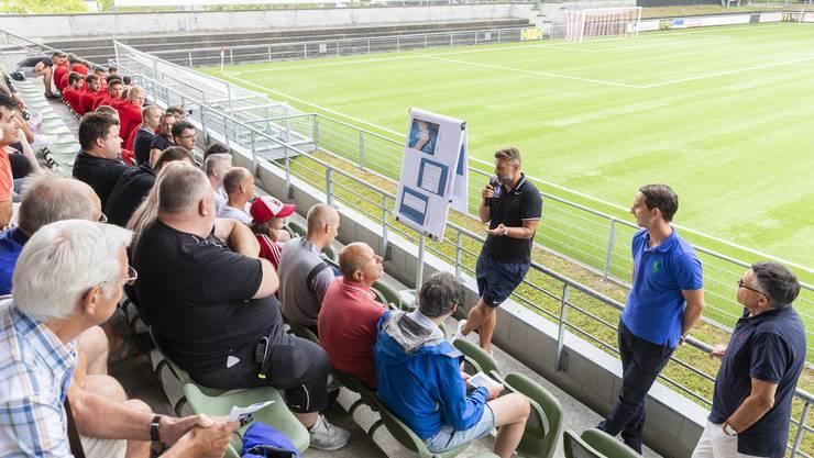 Ende Juli diskutierten Vertreter des FC Aarau, des FC Wohlen und des FC Baden über ihr gemeinsames Projekt, das «Team Aargau».