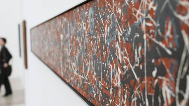 "Jackson Pollock's ""Horizontal Composition"" (Archivbild)"