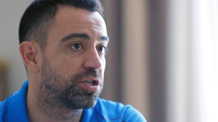 Xavi beginnt seine Trainer-Karriere in Katar