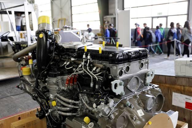 So sieht ein Motor aus