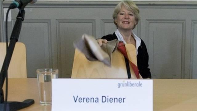 GLP unterstützt offiziell nur ihre Kandidatin Verena Diener (Archiv)