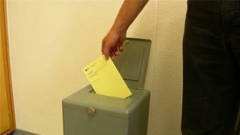Abstimmen und wählen, für ausländische Niedergelassene nicht möglich.