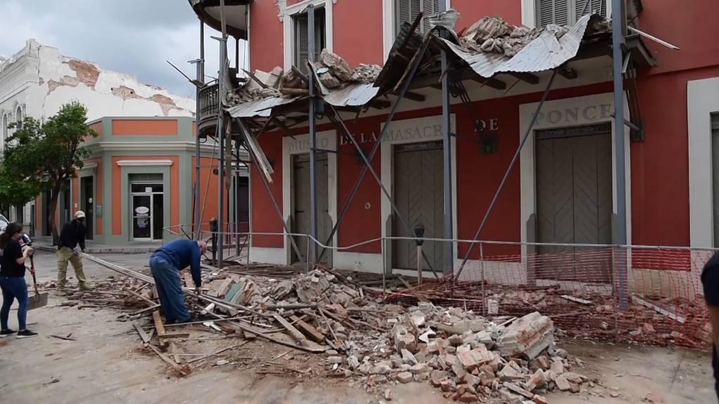 Erdbeben erschüttert Puerto Rico