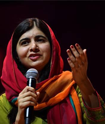 Gegen die Taliban: Malala Yousafzai.