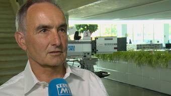 Tele M1 hat mit mit dem Aargauer Aviatik-Experten Heiner Lüscher gesprochen.