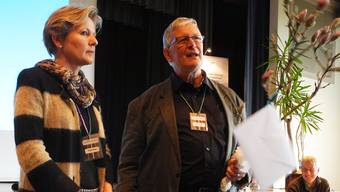 Verfechter von Energie aus der Sonne: Brigit Wyss und Max Bobst.