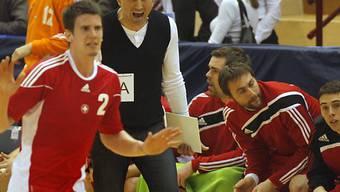 Die Schweizer Handballer waren in Dänemark chancenlos.