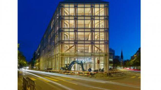 Arbeitet an der Baustelle Publigroupe: Tamedia (Sitz in Zürich). Foto: HO