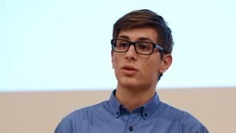 Fabian Grepper: Der Debattensieger ist in seinem Element.